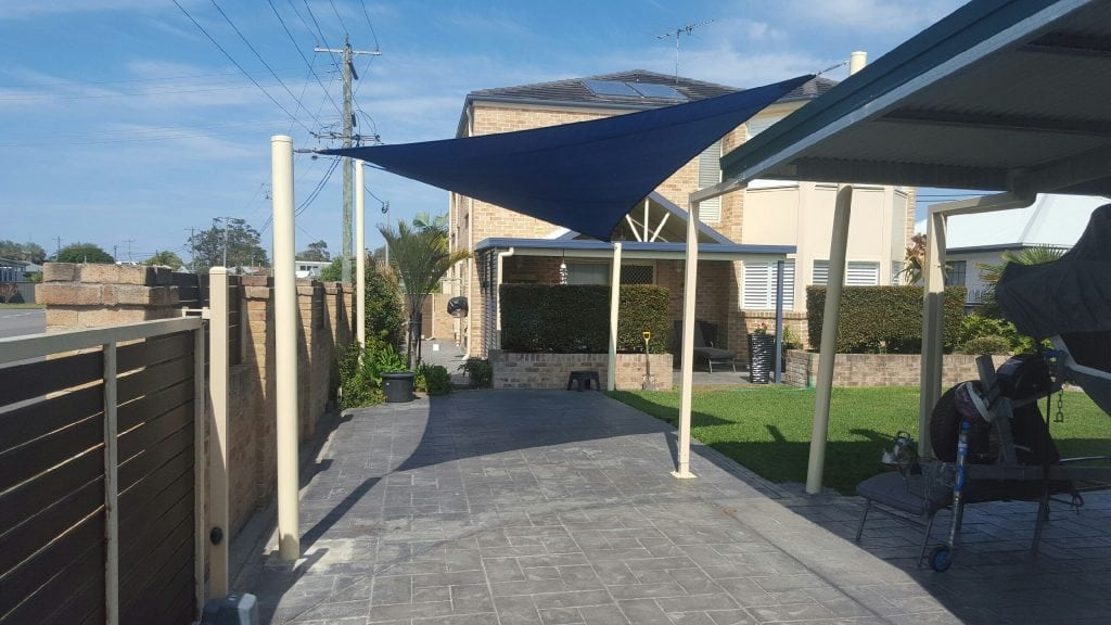 sail and shade carport