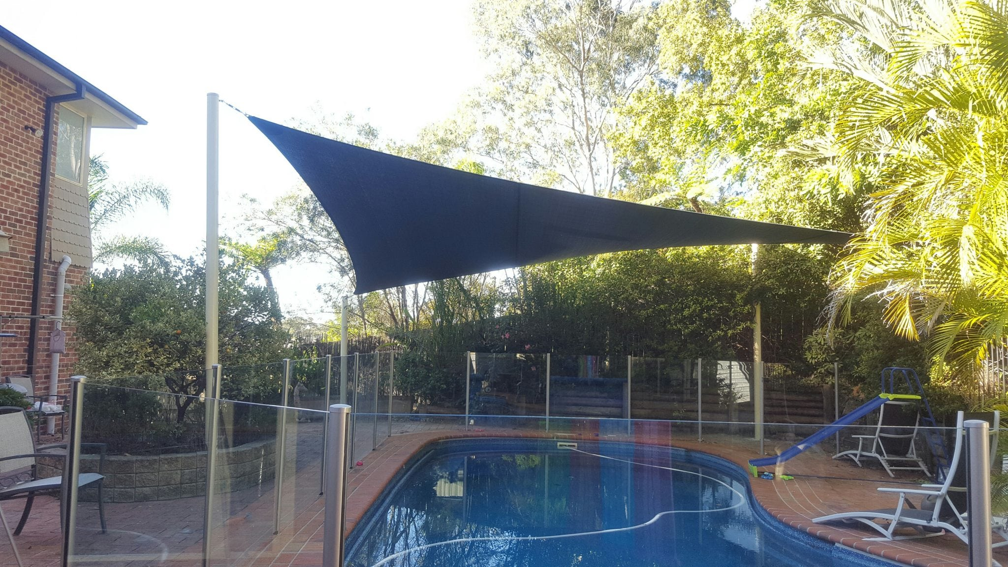shade sail pool newcastle